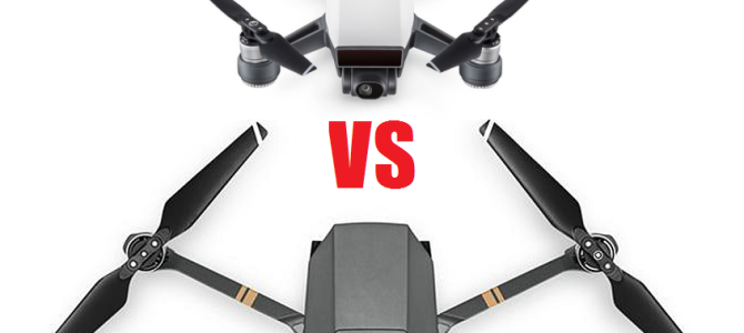 Spark vs Mavic: сравнительный обзор
