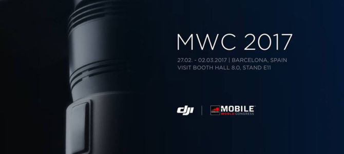 DJI на Mobile World Congress 2017