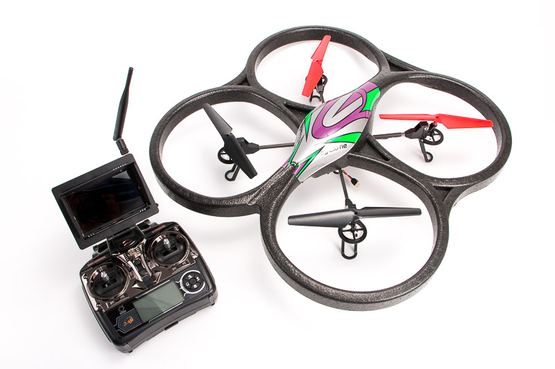 WLToys V666 photo dron
