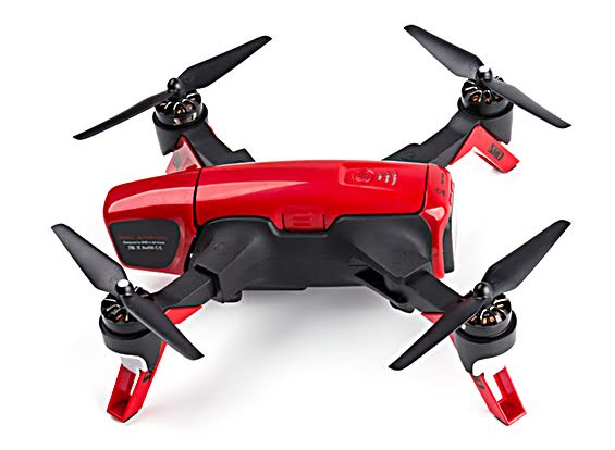 Red Arrow Racing drone вид сбоку