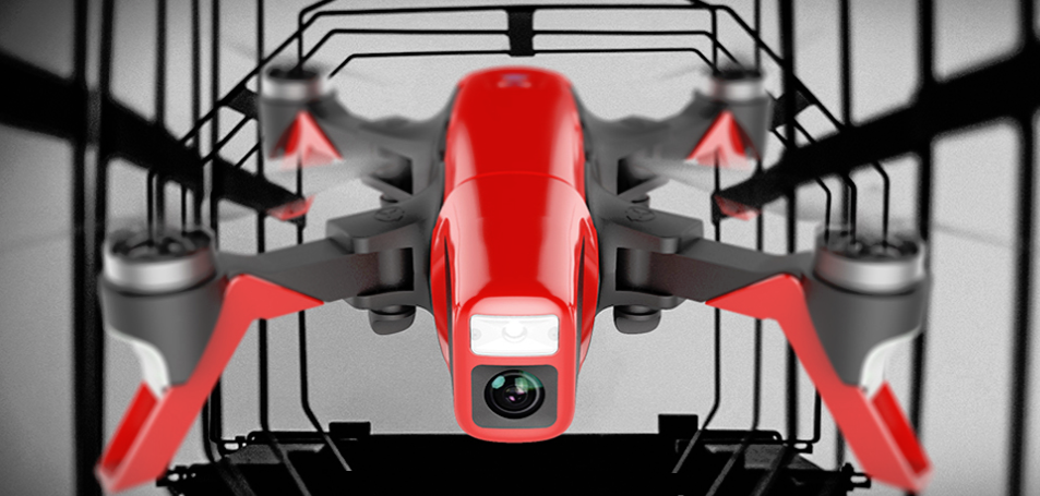 Red Arrow Racing drone в полете