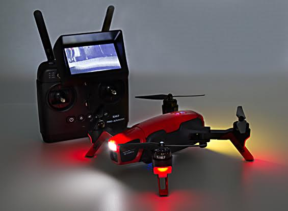 Red Arrow Racing drone LED