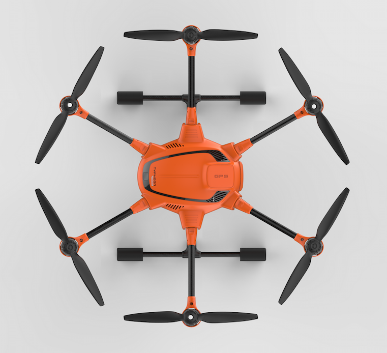 Yuneec Typhoon H520 top view